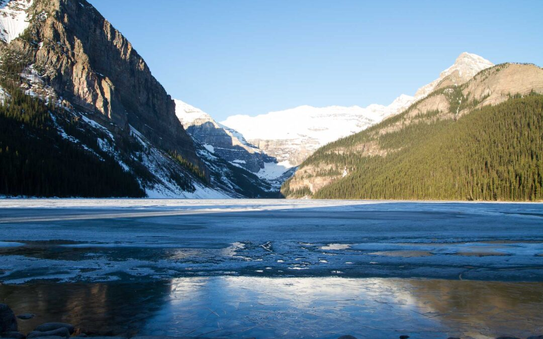 Yes, Lake Louise really is that stunning.
