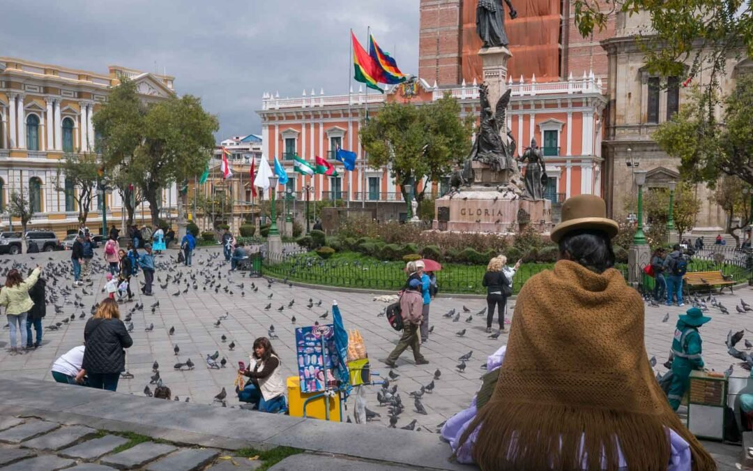 Moonscapes and mayhem in La Paz