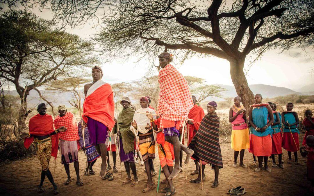 On Safari at the jaw-droppingly beautiful Il' Ngwesi