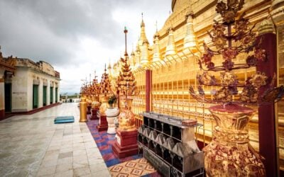 Taking in the pagodas and temples in Myanmar
