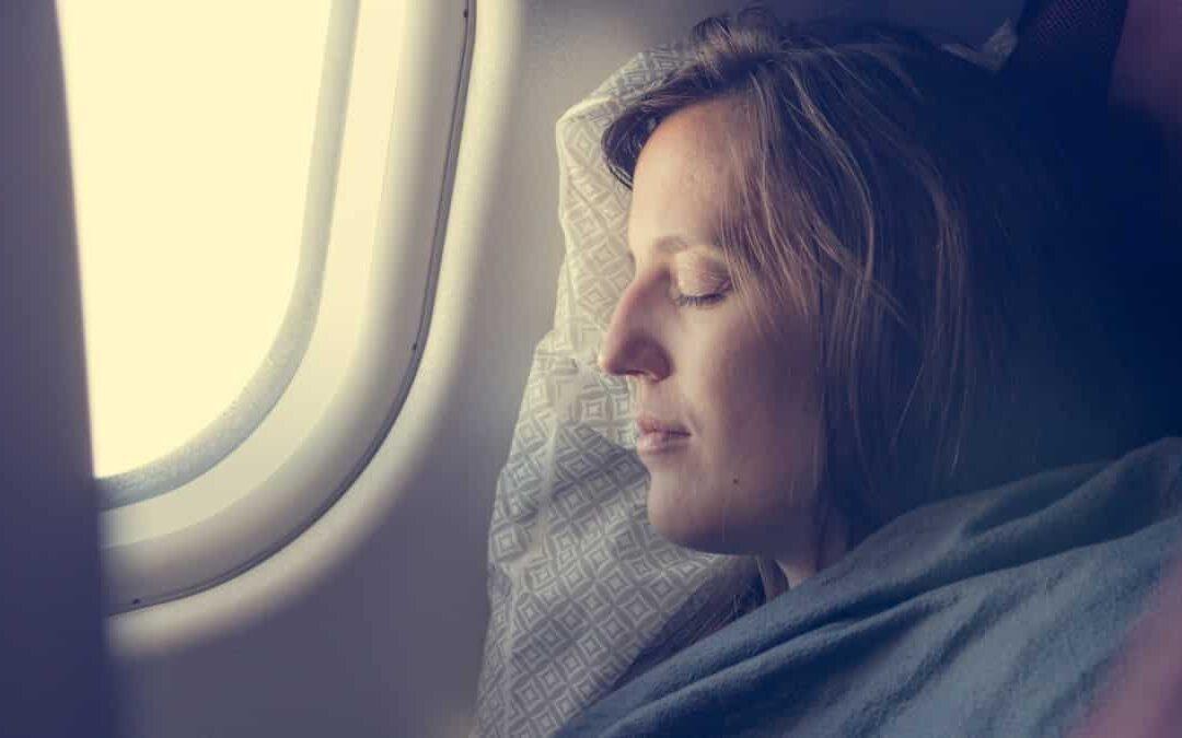 Tips to help you sleep on a plane